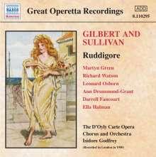 Arthur Sullivan (1842-1900): Ruddigore, CD