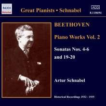 Ludwig van Beethoven (1770-1827): Klaviersonaten Nr.4-6,19,20, CD