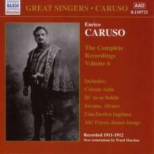 Enrico Caruso:The Complete Recordings Vol.6, CD