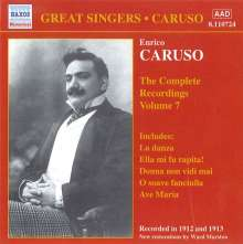 Enrico Caruso:The Complete Recordings Vol.7, CD
