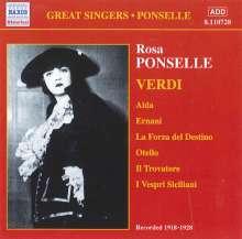 Rosa Ponselle singt Verdi-Arien, CD
