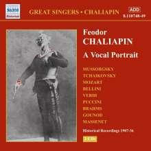 Feodor Schaljapin - A Vocal Portrait, 2 CDs
