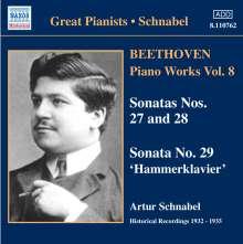 Ludwig van Beethoven (1770-1827): Klaviersonaten Nr.27-29, CD