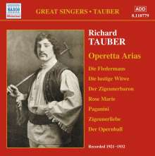 Richard Tauber - Operetta Arias, CD
