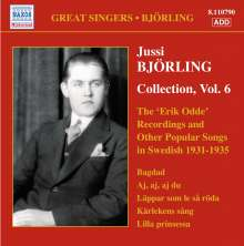 Jussi Björling - Collection Vol.6, CD