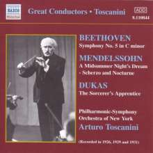 Toscanini & Philharmonic Symphony Orchestra New York, CD