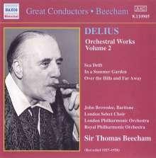 Frederick Delius (1862-1934): Orchesterwerke Vol.2, CD