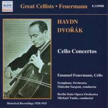 Emanuel Feuermann spielt Cellokonzerte, CD