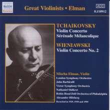 Mischa Elman spielt Violinkonzerte, CD