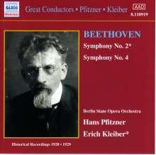 Ludwig van Beethoven (1770-1827): Symphonien Nr.2 & 4, CD