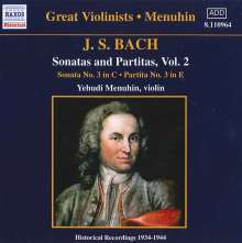 Johann Sebastian Bach (1685-1750): Sonaten & Partiten für Violine BWV 1005 & 1006, CD