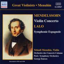 Yehudi Menuhin spielt Violinkonzerte, CD
