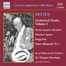 Frederick Delius (1862-1934): Orchesterwerke Vol.4, CD
