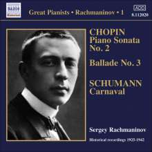 Sergej Rachmaninoff Vol.1, CD
