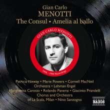 Gian-Carlo Menotti (1911-2007): The Consul, 2 CDs