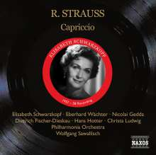 Richard Strauss (1864-1949): Capriccio, 2 CDs