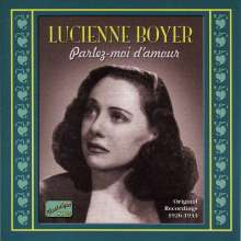 Lucienne Boyer: Original Recordings 1926 - 1933, CD