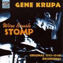 Gene Krupa (1909-1973): Wire Brush Stomp, CD