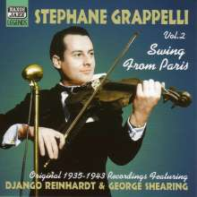 Stéphane Grappelli (1908-1997): Swing From Paris Vol. 2, CD