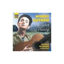 Woody Guthrie: Pastures Of Plenty, CD
