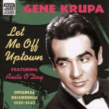 Gene Krupa (1909-1973): Let Me Off Uptown, CD