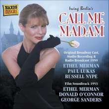 Call Me Madam, CD