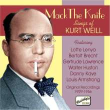 Mack The Knife - Songs Of Kurt Weill, CD