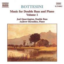 Giovanni Bottesini (1821-1889): Werke für Kontrabaß & Klavier Vol.1, CD