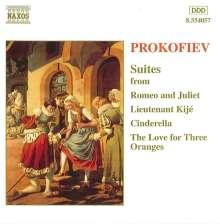 Serge Prokofieff (1891-1953): Romeo & Julia - Suite Nr.2, CD