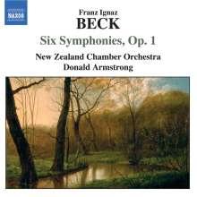 Franz Ignaz Beck (1734-1809): Symphonien op.1 Nr.1-6, CD