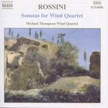 Gioacchino Rossini (1792-1868): Streichersonaten Nr.1-6 arr.für Bläserquartett, CD