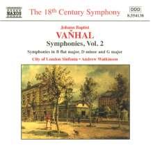 Johann Baptist Vanhal (1739-1813): Symphonien Vol.2, CD