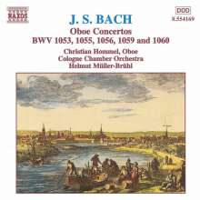 Johann Sebastian Bach (1685-1750): Oboenkonzerte BWV 1053,1055,1056,1059,1060, CD