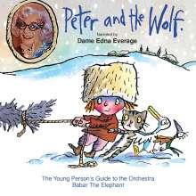 Serge Prokofieff (1891-1953): Peter und der Wolf (in engl.Spr.), CD
