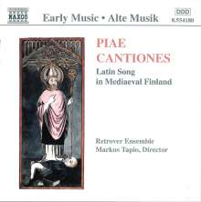 Piae Cantiones I (1000-1400), CD