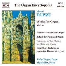 Marcel Dupre (1886-1971): Orgelwerke Vol.6, CD