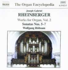 Joseph Rheinberger (1839-1901): Sämtliche Orgelwerke Vol.2, CD