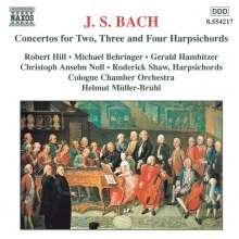 Johann Sebastian Bach (1685-1750): Cembalokonzerte BWV 1060-1062,1064,1065, CD