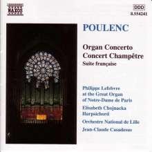 Francis Poulenc (1899-1963): Konzert für Orgel,Streicher & Pauken, CD