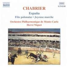 Emanuel Chabrier (1841-1894): Orchesterwerke, CD