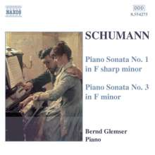 Robert Schumann (1810-1856): Klaviersonaten Nr.1 & 3, CD