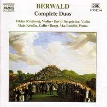 Franz Berwald (1796-1868): Sämtliche Duos, CD
