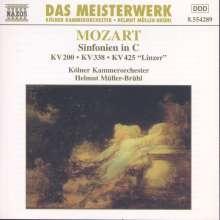 Wolfgang Amadeus Mozart (1756-1791): Symphonien Nr.28,34,36, CD