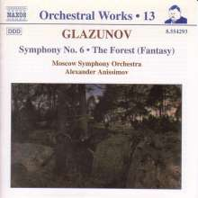 Alexander Glasunow (1865-1936): Symphonie Nr.6, CD