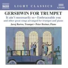 George Gershwin (1898-1937): Gershwin for Trumpet - Arrangements für Trompete & Klavier, CD