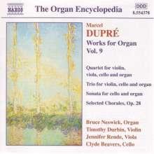 Marcel Dupre (1886-1971): Orgelwerke Vol.9, CD