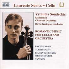 Vytautas Sondeckis - Romantic Music for Cello, CD