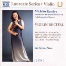 Michiko Kamiya - Violin Recital, 2 CDs