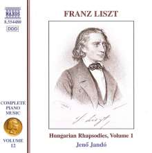 Franz Liszt (1811-1886): Klavierwerke Vol.12, CD