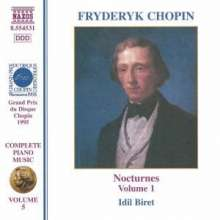 Frederic Chopin (1810-1849): Nocturnes Nr.1-10,20,21, CD